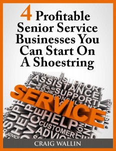 senior service business on a shoestring