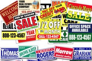 profitable vinyl sign business