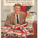 collectible ronald reagan ad