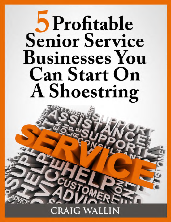 senior service business on a shoestring e-book